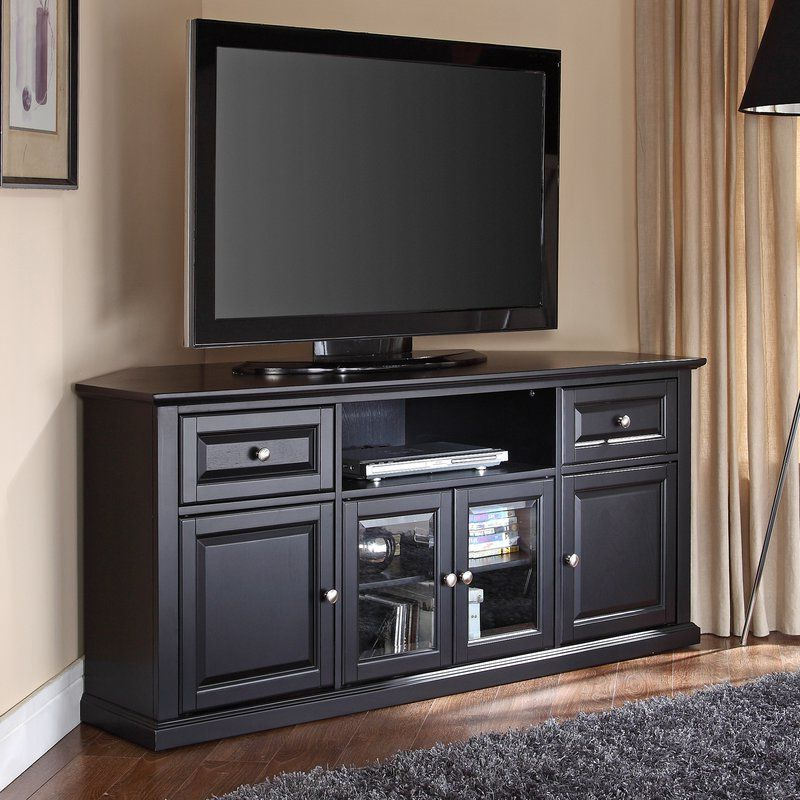 60 Tv Stand, Tv Stands And Corner Tv With Black Corner Tv Stands For Tvs Up To 60 (Gallery 6 of 20)