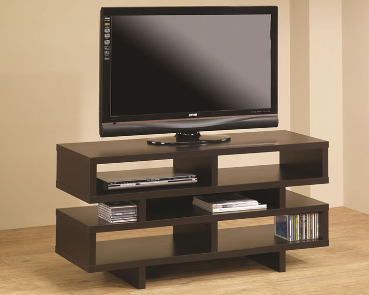 60quot Contemporary Media Console Tv Stand Nature Cherry Tv Wood Regarding Well Known Contemporary Modern Tv Stands (View 20 of 20)