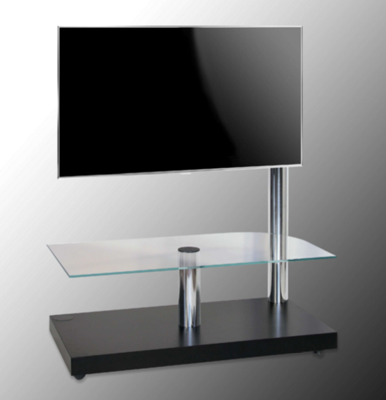 7 Glass Tv Stands For A Contemporary Living Room – Cute Furniture Uk Inside Popular Modern Glass Tv Stands (Gallery 12 of 20)