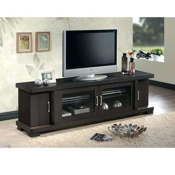 70 Black Tv Stand – Ceti Intended For Well Known Dark Tv Stands (Gallery 20 of 20)