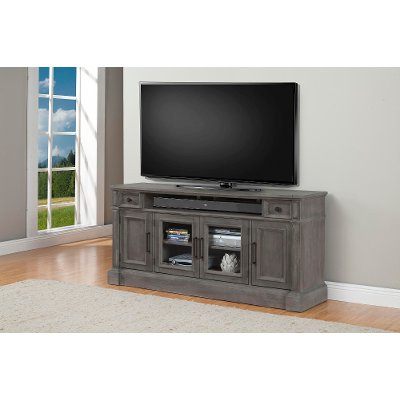 74 Inch Distresssed Gray Tv Stand – Willow (Gallery 15 of 20)