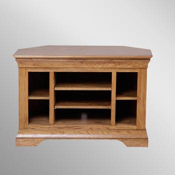 908 Fh Ragne Solid Oak Corner Tv Cabinet/wooden Tv Units – Buy Regarding Fashionable Solid Oak Corner Tv Cabinets (View 2 of 20)