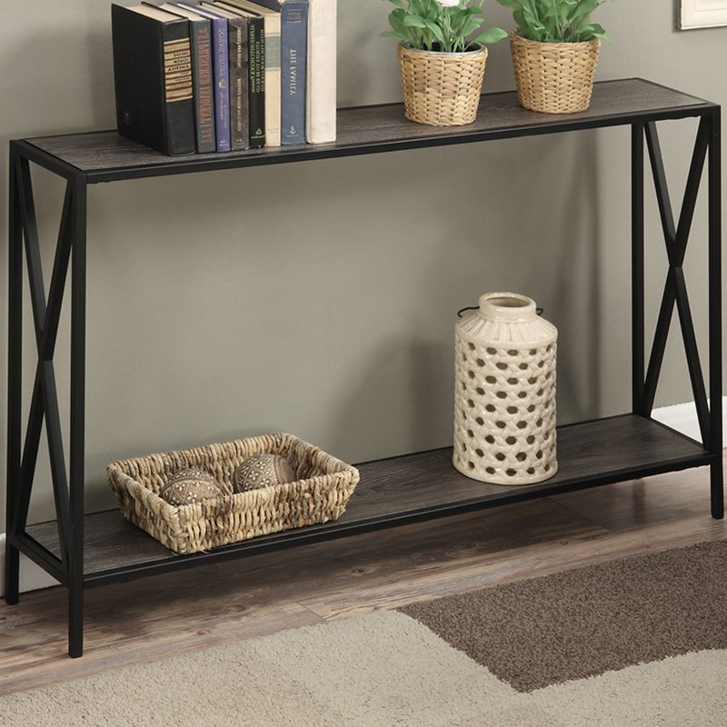 Abbottsmoor Metal Frame Console Table (Gallery 18 of 20)