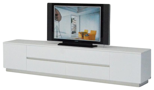 Ak588 230 White Crocodile Textured Lacquer Entertainment Tv Unit Regarding Best And Newest White Tv Cabinets (View 3 of 20)