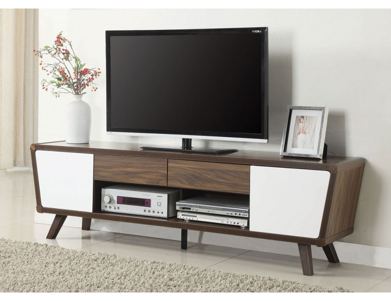 Alexi Mid Century Modern Tv Stand In Current Century Blue 60 Inch Tv Stands (Gallery 2 of 20)