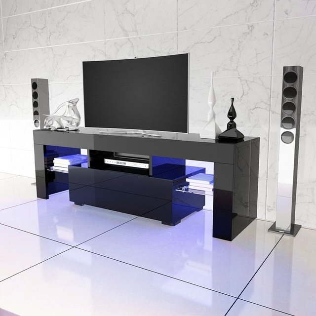 Aliexpress : Buy Led Tv Stand High Gloss Tv Cabinet Modern In Latest High Gloss Tv Cabinets (View 2 of 20)