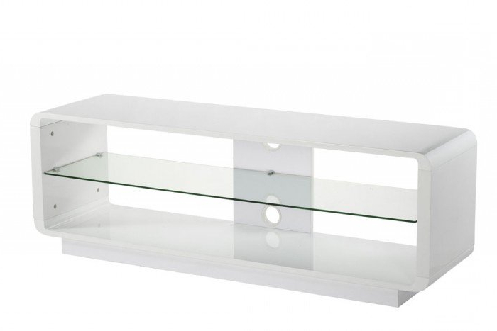 Alphason Luna Adlu1400 Wht High Gloss White Tv Stand Inside Favorite Gloss White Tv Stands (View 11 of 20)