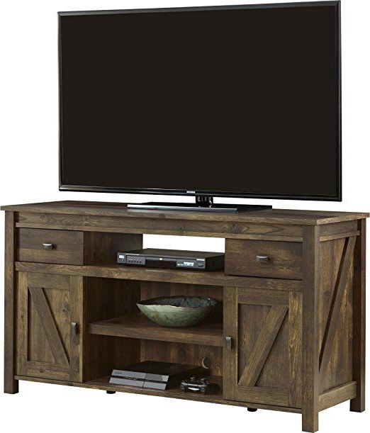 Amazon: Ameriwood Altra Farmington Tv Stand, Century Barn Pine With Trendy Century White 60 Inch Tv Stands (View 9 of 20)