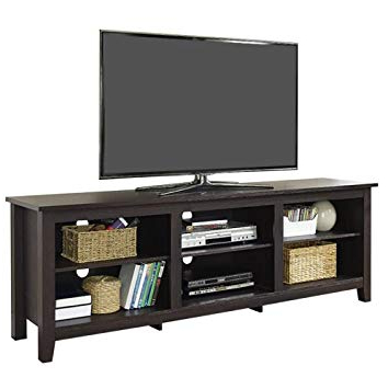 "Amazon: Beachcrest Home Sunbury 70"" Tv Stand, Tv Unit Furniture With Regard To Trendy Tv Stands For 70 Flat Screen (Gallery 9 of 20)"