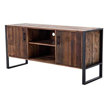 Amazon: Belmont Home 60 Inch Natural Finish Media Stand: Kitchen Within Famous Cato 60 Inch Tv Stands (View 3 of 20)