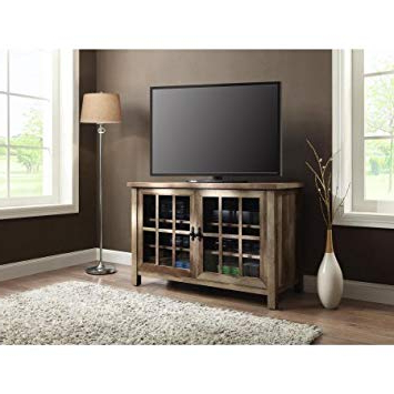 Amazon: .better Homes And Gardens Oxford Square Tv Stand And Regarding Famous Square Tv Stands (Gallery 2 of 20)