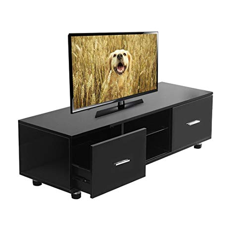 Amazon: Coldcedar 63 Inch Tv Console With Drawers Wood Tv Stand For Well Known Kai 63 Inch Tv Stands (View 6 of 20)