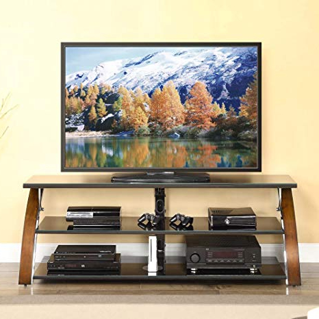 Amazon: Contemporary Tv Stands For Flat Screens Open In Newest Contemporary Tv Stands For Flat Screens (View 5 of 20)