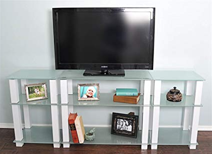 Amazon: Extra Tall Tv Stand: Electronics Throughout 2018 Extra Long Tv Stands (Gallery 7 of 20)