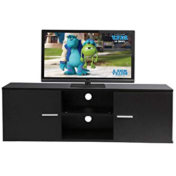 Amazon: Graspwind Modern Tv Stand Wood Storage Console Throughout Famous Modern Tv Entertainment Centers (View 18 of 20)
