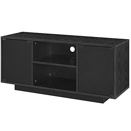 Amazon: Modway Portal Flat Screen Tv Stand In Black – Modern In Well Liked Tv Stands For 43 Inch Tv (Gallery 8 of 20)