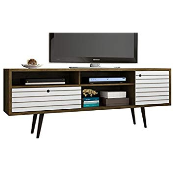 Amazon: Modway Tread Mid Century Modern 59 Inch Tv Stand, 59 With Regard To Most Recent Century Sky 60 Inch Tv Stands (View 1 of 20)