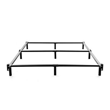 Amazon: Noah Megatron King Size Metal Bed Frame 7 Inch Heavy With Regard To Favorite Noah 75 Inch Tv Stands (View 6 of 20)
