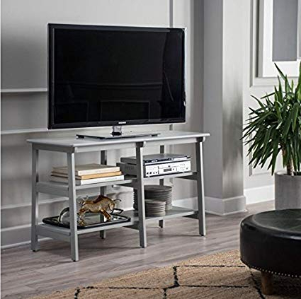 Amazon: Premium Furniture Usa Tv Stand For Flat Screen Large Tvs Within Most Recently Released Tv Stands For Large Tvs (Gallery 19 of 20)