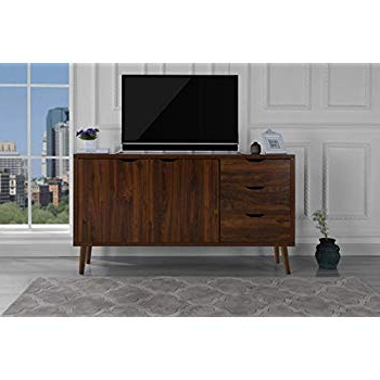 Amazon: Sofamania Mid Century Style Tv Stand, Living Room Inside Current Jaxon 71 Inch Tv Stands (Gallery 10 of 17)