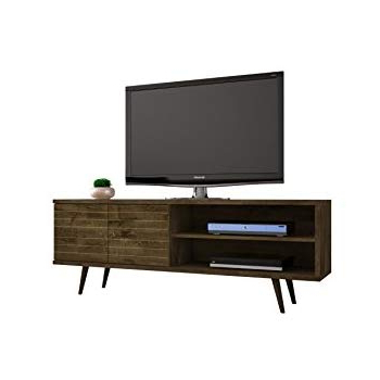 Amazon: Sofamania Mid Century Style Tv Stand, Living Room Within Trendy Jaxon 71 Inch Tv Stands (View 13 of 17)