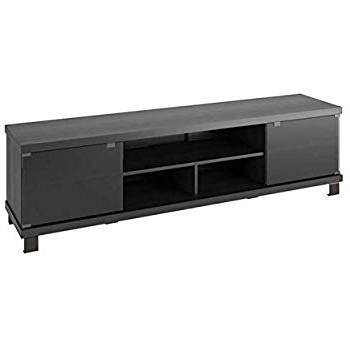 Amazon: Sonax B 003 Rbt Bromley Tv Stand, Ravenwood Black With Regard To Well Known Raven Grey Tv Stands (View 11 of 20)