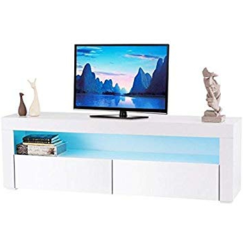 Amazon: Toronto Tv Cabinet – Medium – Central Living Room Tv Intended For 2017 Rowan 45 Inch Tv Stands (Gallery 19 of 20)
