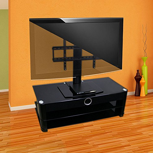 Amazon: Universal Tv Stand For Tv With Swivel And Height Pertaining To Most Popular Tv Stands For 43 Inch Tv (View 6 of 20)