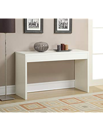 Amazon With Regard To Most Up To Date Parsons Grey Solid Surface Top & Brass Base 48x16 Console Tables (View 18 of 20)