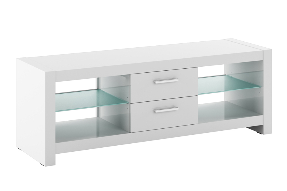 Andora White High Gloss Tv Cabinets (View 2 of 20)