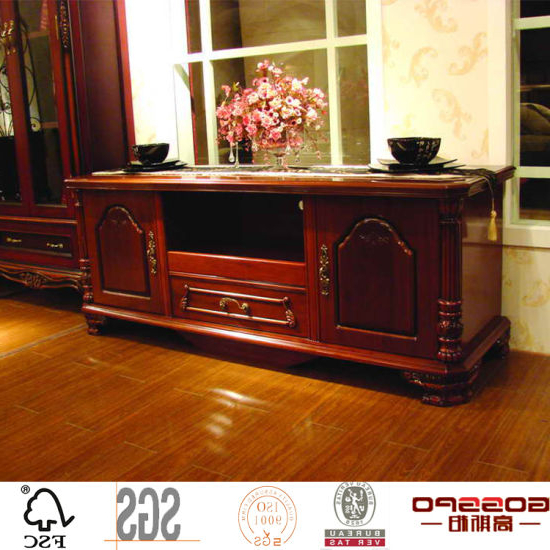 Antique Solid Mahogany Wood Corner Tv Stand Cabinet (Gsp15 007) For Favorite Mahogany Corner Tv Cabinets (Gallery 17 of 20)