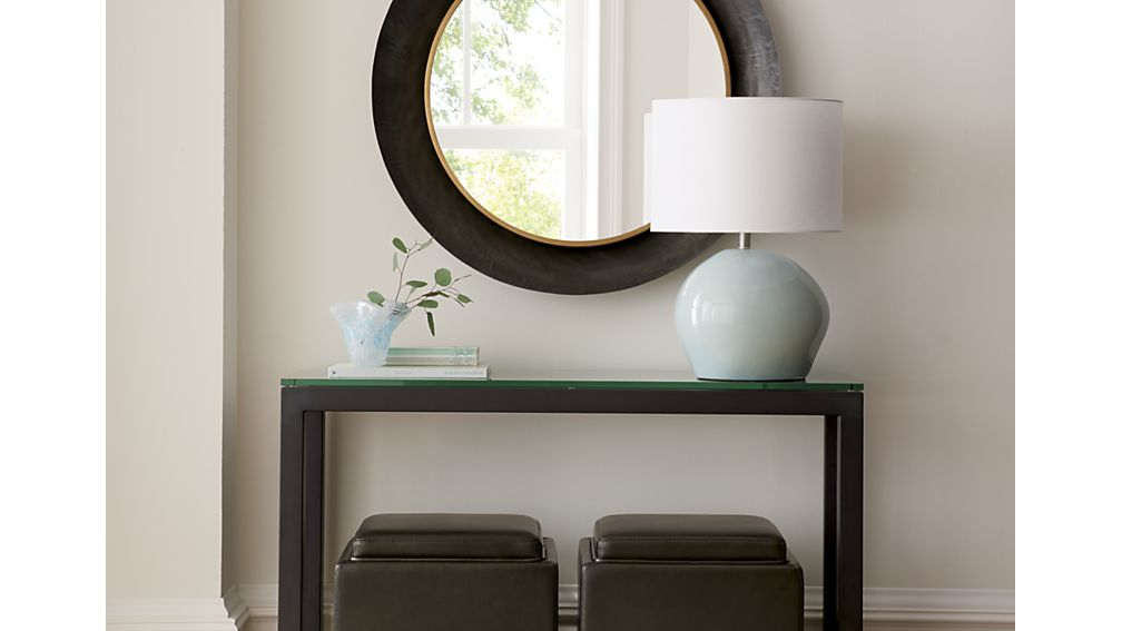 Architecture Ideas Inside Parsons Grey Solid Surface Top & Dark Steel Base 48X16 Console Tables (View 5 of 20)
