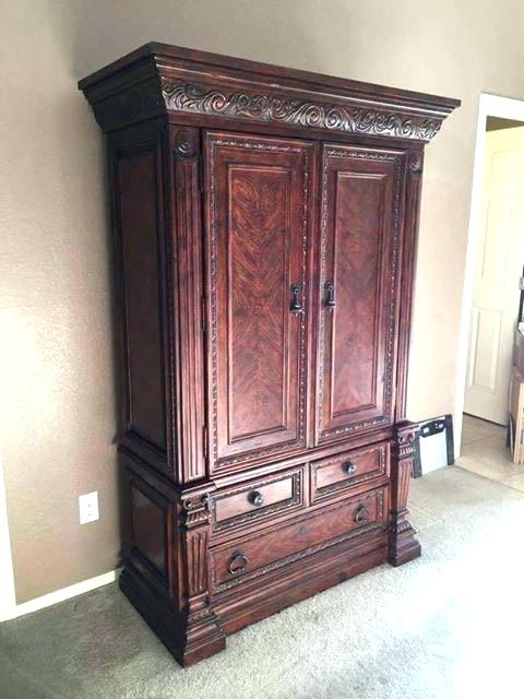 Armoires ~ Oak Tv Armoire Broyhill Oak Tv Stand Oak Tv Armoire (View 2 of 20)