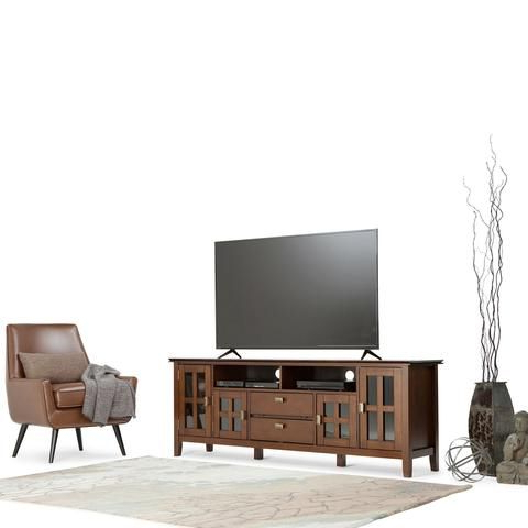 Artisan, Tall Tv Stands And Within Dixon Black 65 Inch Highboy Tv Stands (View 3 of 20)