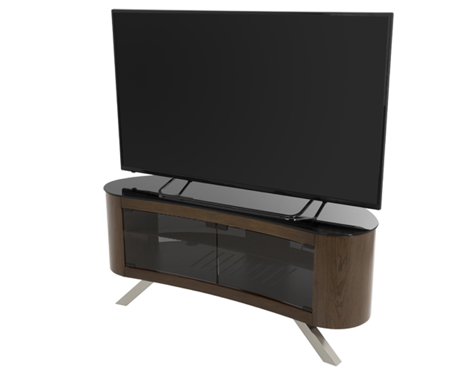Avf Affinity Bay 1150 Curved Tv Stand For Tvs Up To 55 , For Well Liked Curve Tv Stands (View 1 of 20)