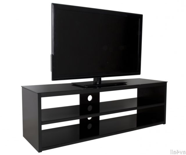 "Avf Muritz Gloss Black Tv Stand For Up To 70"" Fs1400murb (View 16 of 20)"