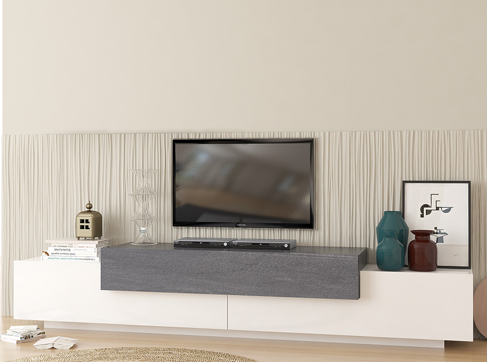 Azimut Contemporary Tv Stand (View 1 of 20)