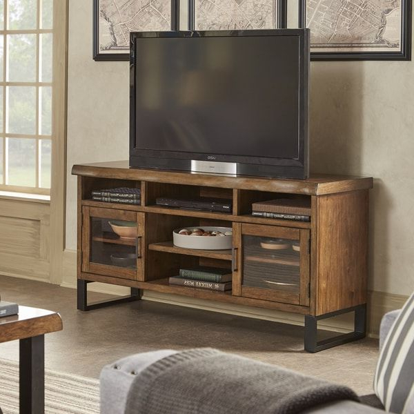 Banyan Live Edge Wood And Metal Tv Stand Media Consoleinspire Q In Trendy Wood And Metal Tv Stands (View 2 of 20)