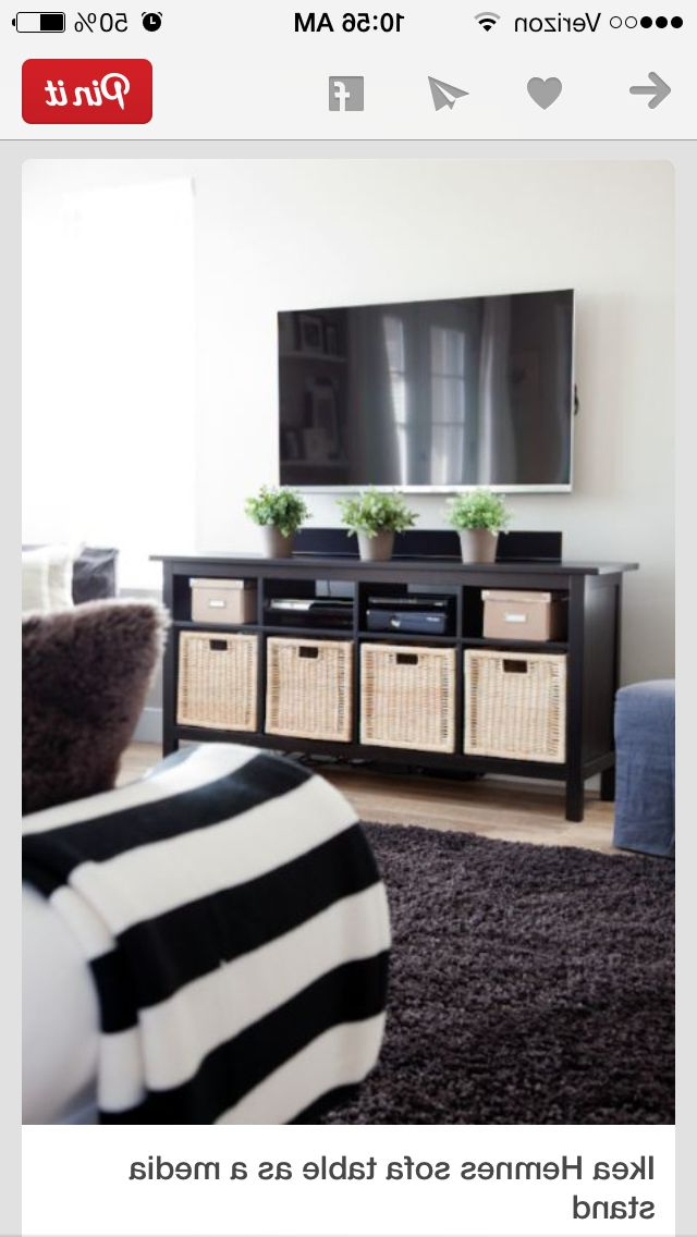 Baskets For Storage In Tv Unit (Gallery 7 of 20)