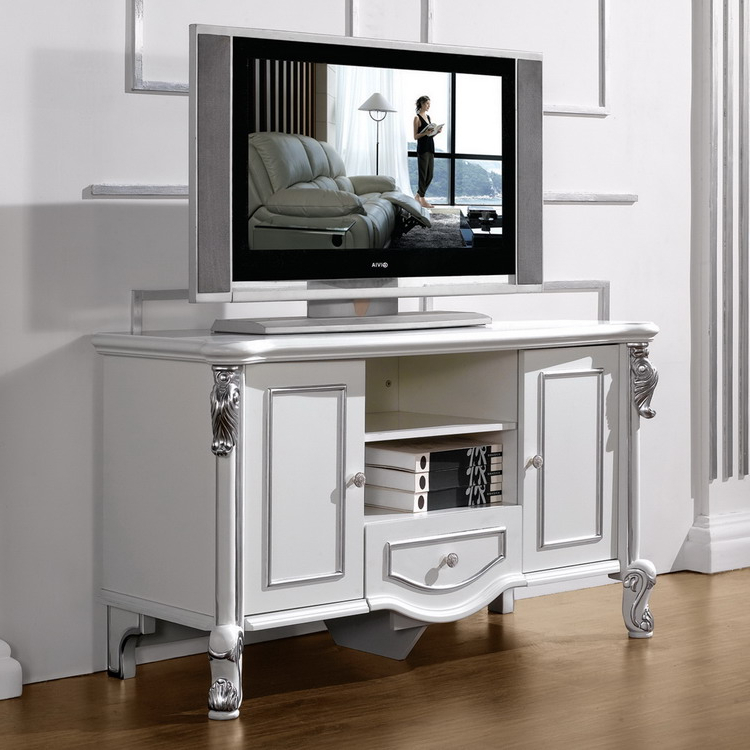 Bedroom Bedroom Tv Unit Furniture Long Low Tv Unit Flat Screen Tv Inside Latest Large White Tv Stands (View 2 of 20)