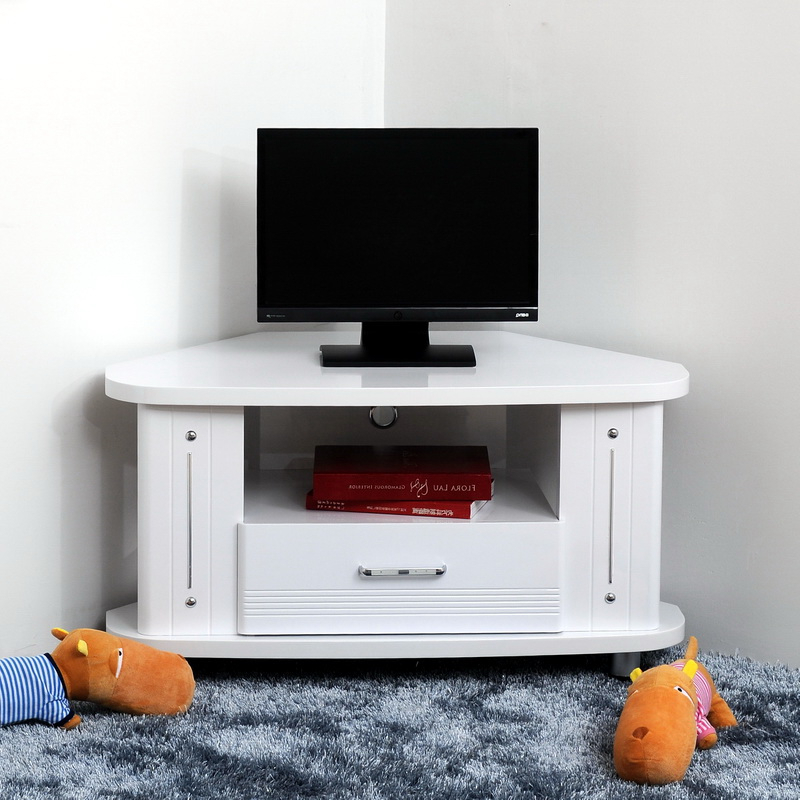 Bedroom Tall Tv Cabinet With Storage Television Furniture Stands Pertaining To Well Liked Corner Tv Tables Stands (View 11 of 20)
