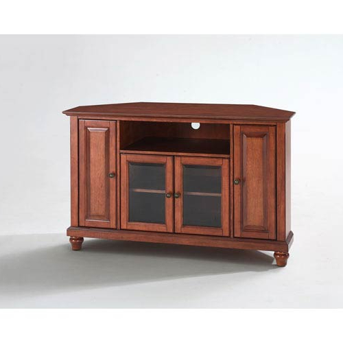Bellacor Intended For 2018 Wooden Corner Tv Cabinets (View 3 of 20)