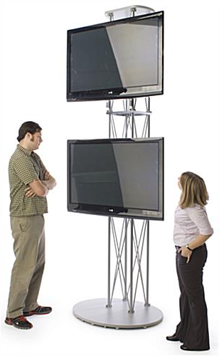 Best And Newest 10 Foot Tall Plasma Tv Stand – For (2) Monitors Intended For Plasma Tv Holders (View 15 of 20)