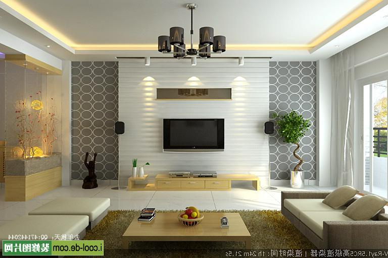Best And Newest 40 Contemporary Living Room Interior Designs With Contemporary Tv Wall Units (View 5 of 20)