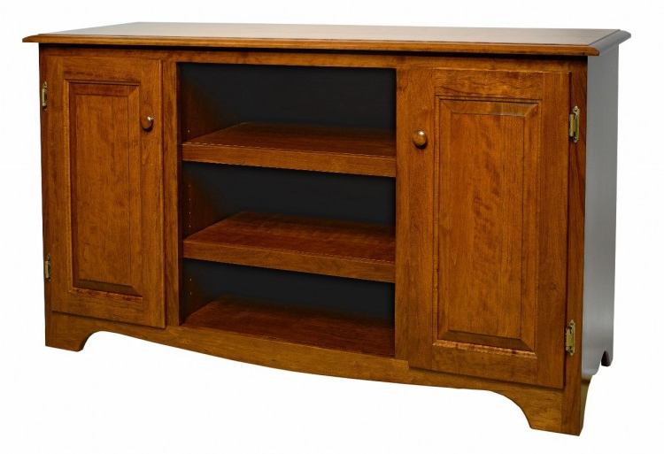 Best And Newest Cherry Tv Stands Within Traditional Plasma Tv Stand : 504 Plw0197 88 O : Entertainment (Gallery 8 of 20)