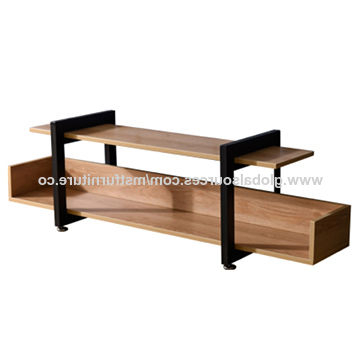 Best And Newest China Wooden Metal Square Frame Tv Stand From Langfang Online Seller Within Square Tv Stands (View 6 of 20)