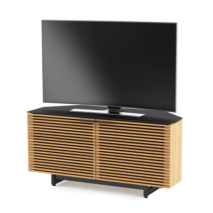 Best And Newest Contemporary Corner Tv Stands In Corridor Oak Modern Corner Tv Standbdi (Gallery 3 of 20)