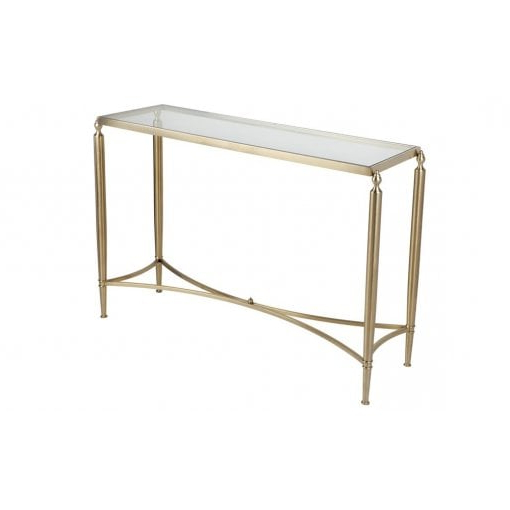 Best And Newest Jacque Console Tables For Cafe Lighting And Living Jacques Console Table – Gold – Cafe (View 4 of 20)