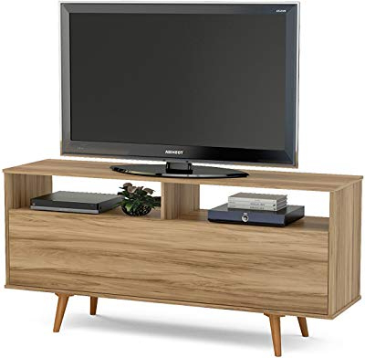 Best And Newest Kenzie 60 Inch Open Display Tv Stands Intended For Amazon: Helios 157 Contemporary Tv Entertainment Stands For (View 3 of 20)