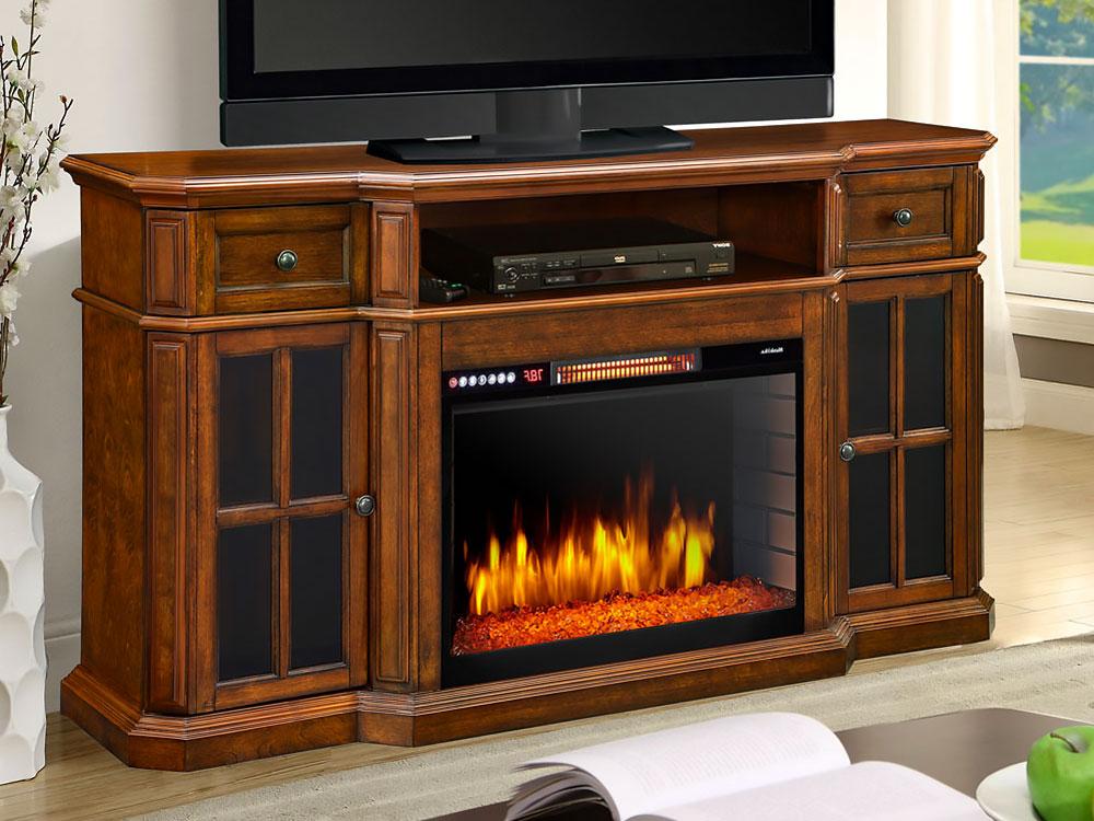 Best And Newest Kilian Grey 49 Inch Tv Stands With Electric Fireplace Tv Stands (Gallery 6 of 20)
